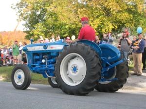 Blue Tractors
