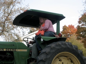 New (kid on a) Tractor