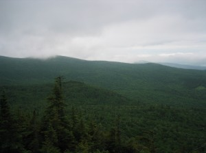 View from Burnt Rock Mountain