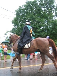 A Horse (with Graduate) of Course