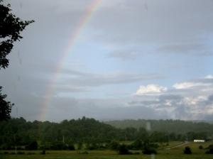 July Rainbow