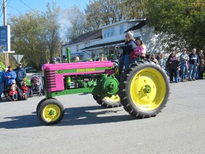 Pink Tractor