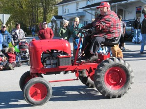 Small Tractor, Large Man