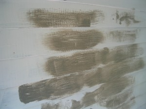 Paint on House Siding