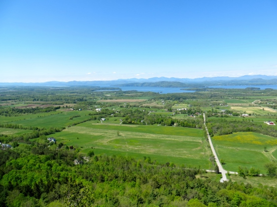 View from the top of Mount Philo